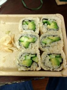 $jivamukti yogaから世界へ-玄米寿司